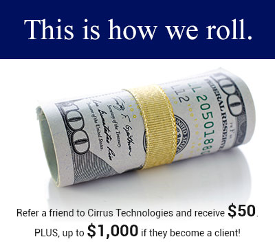 Customer Referral Program | Cirrus Technologies